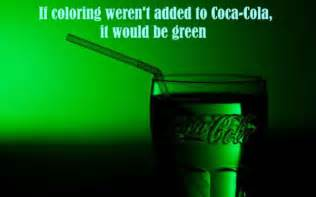 coca cola without coloring random facts