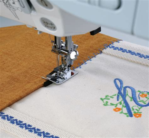 Ditch Quilting Foot by Janome America World S Easiest Sewing Quilting