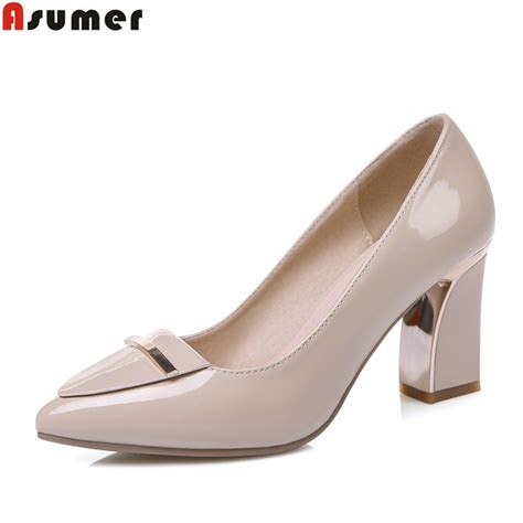 large high heels high heel large size 33 41 office shoes pointed toe square