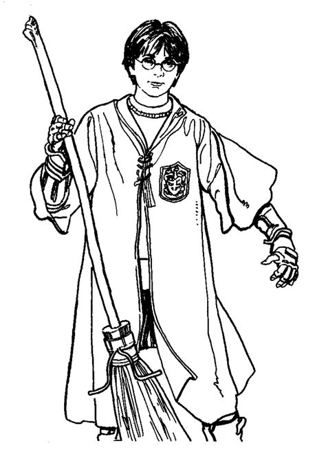 harry potter coloring pages gryffindor harry potter ginny coloring page coloring home