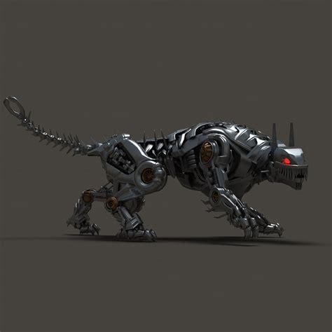 Umakuka 3d Robot Tiger 3d iron tiger model
