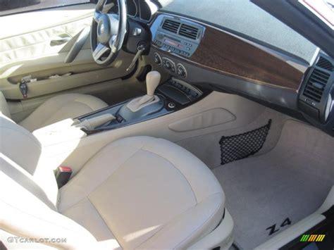 Bmw Beige Interior by Beige Interior 2004 Bmw Z4 2 5i Roadster Photo 38711863
