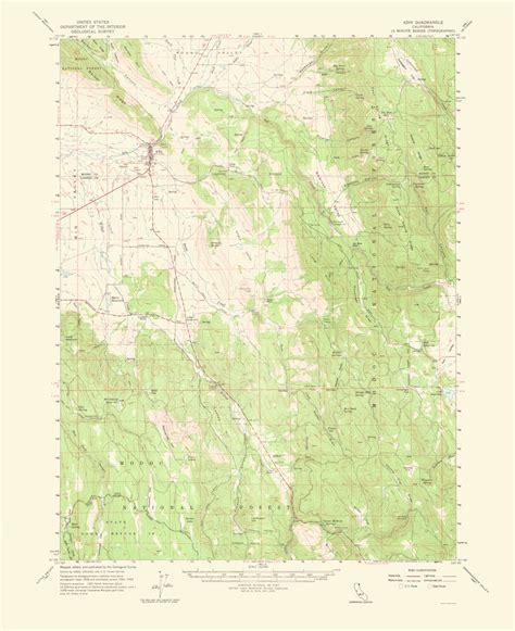 california quadrangle map historical topographical maps adin quadrangle california