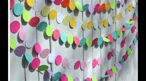 Birthday Decorations With Crepe Paper by Decorating With Crepe Paper And Balloons