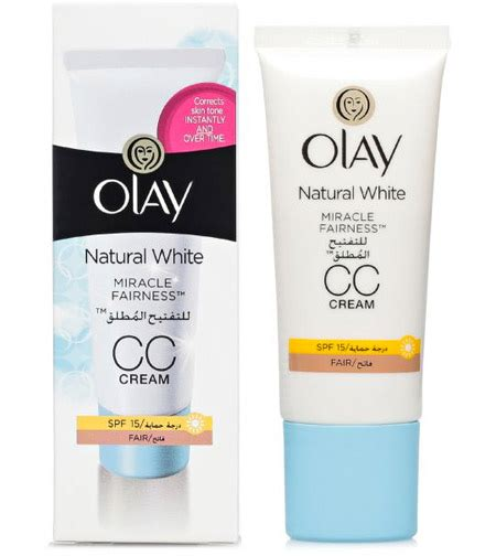 Olay White Radiance Miracle souq olay white miracle fairness cc spf 15