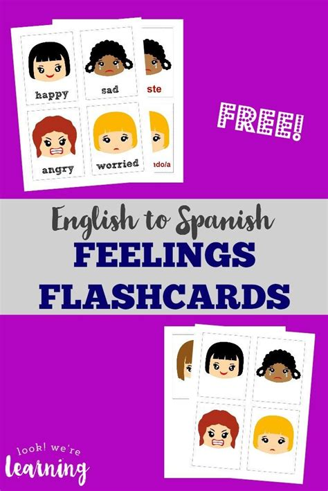 printable number flashcards in spanish 52 best images about free printable flashcards on