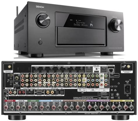 overview   denon avr xw home theater receiver