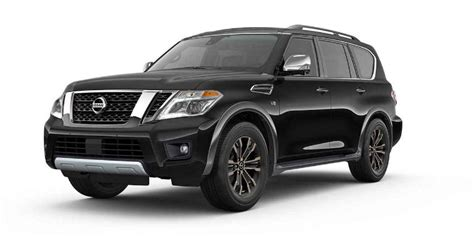 nissan armada 2017 black what are the 2017 nissan armada s color options