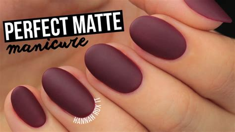 perfectm 233 lange choosing the right foundation matted nails how to get the perfect matte mani youtube