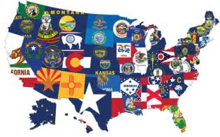 united states map with flag state flag best flag