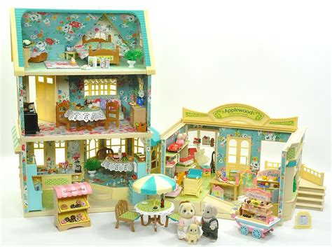 sylvanian families cottage sylvanian families decorated applewood house cafe shop