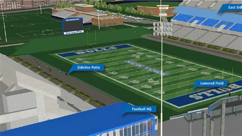 buffalo facilities master plan football bull run