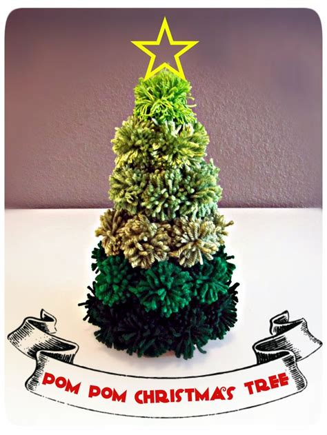 Pompom Decoration Polos Uk 20cm 56 diy tree crafts ideas