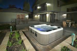 tub hottubfireplace