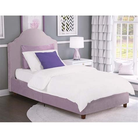 purple platform bed upholstered twin platform bed in light purple lilac 4075919