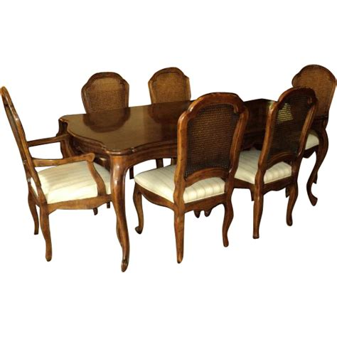 henredon dining table and chairs country vintage henredon dining table 8 chairs