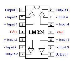 lmn amplificador operacional cuadruple quantica