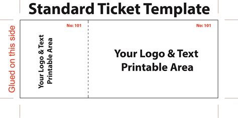 printable templates free download fundraiser ticket template free download