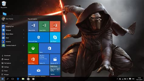 unique themes for windows 8 1 star wars the force awakens theme windows 8 and 10 save