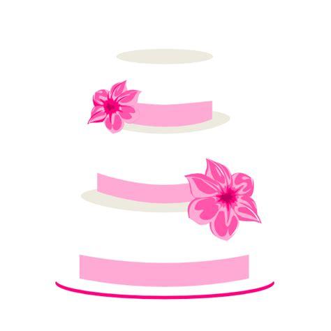 Hochzeitstorte Clipart by Pink Wedding Cake Clip At Clker Vector Clip