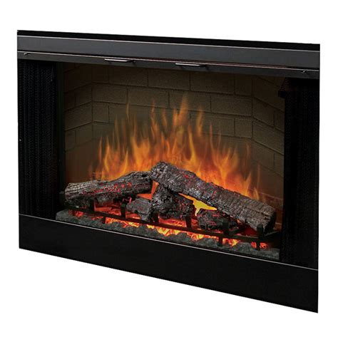 electric fireplace insert dimplex dimplex 45 built in electric fireplace insert
