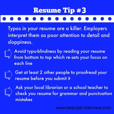 Resume Tips To Avoid Powerful Resume Building Tips