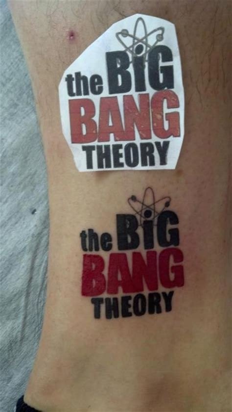 big bang tattoo big theory wallpaper