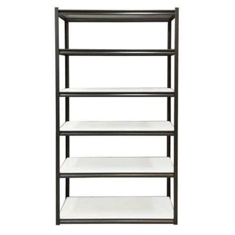 edsal 6 shelf 48 in w x 84 in h x 18 in d steel storage