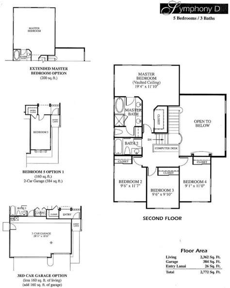 symphony homes floor plans 5 leolani floor plans newer hawaii kai homes