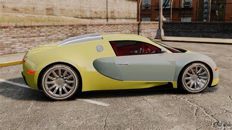 bugatti veyron gold bugatti veyron gold centenaire 2009 for gta 4