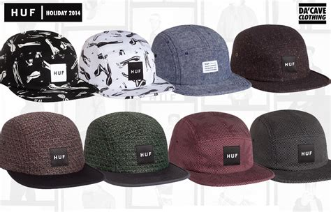 Topi 5 Panel Black huf 5 panels snapbacks in singapore da cave store singapore