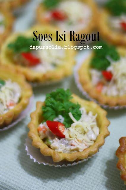 Cetakan Pie Soes soes isi ragout resep kue masakan dan minuman cara
