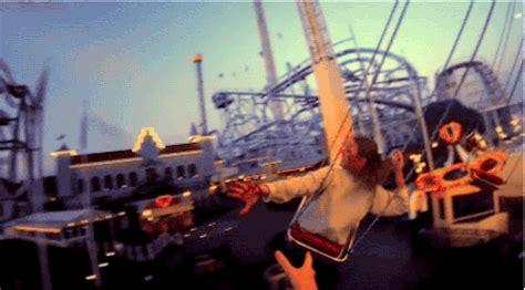 tumblr swing video amusement park gif tumblr