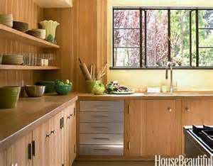 Douglas Fir Kitchen Cabinets by Small Kitchens