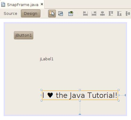 javabeans tutorial using a third party bean the java tutorials gt javabeans