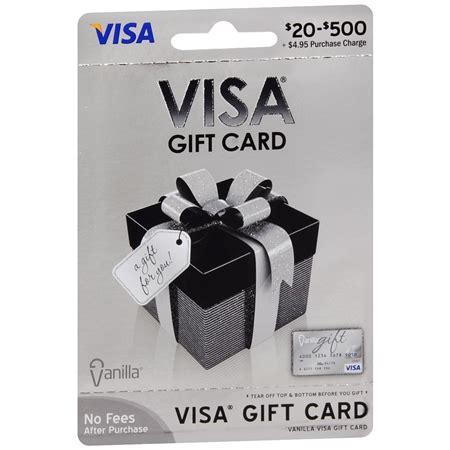 Visa Gift Card Name On Card - vanilla visa non denominational gift card walgreens