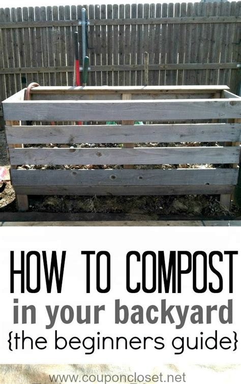 backyard composting guide 1000 images about how to compost on pinterest gardens