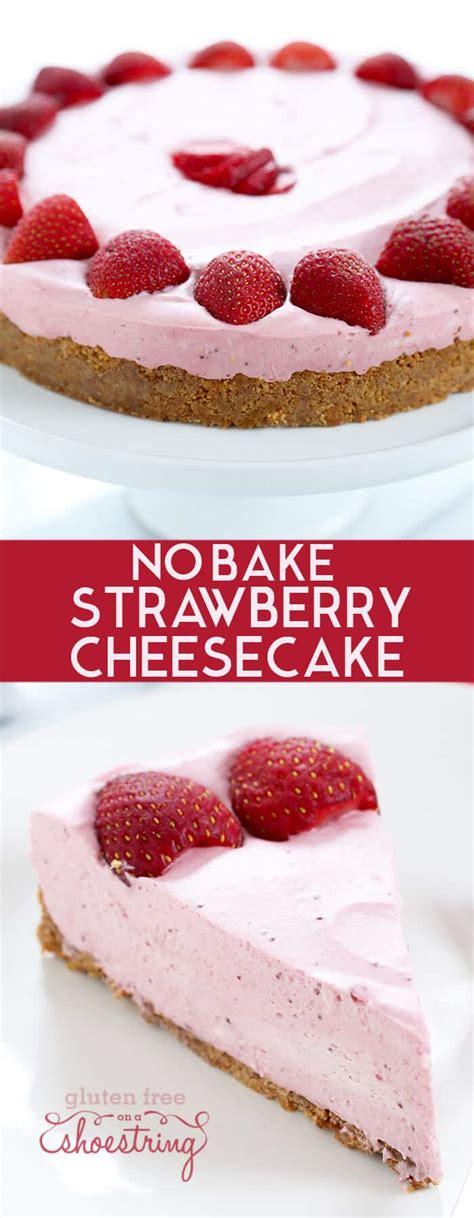 membuat no bake cheesecake philadelphia cream cheese strawberry cheesecake recipe