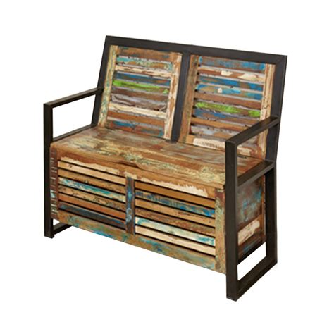 monks bench with storage urban chic storage monks bench