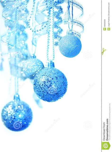 hanging christmas decorations stock image image 35632559