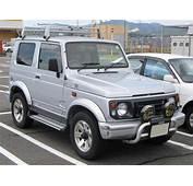 Suzuki JimnySierra 2nd 1995 Frontjpg  Wikimedia Commons