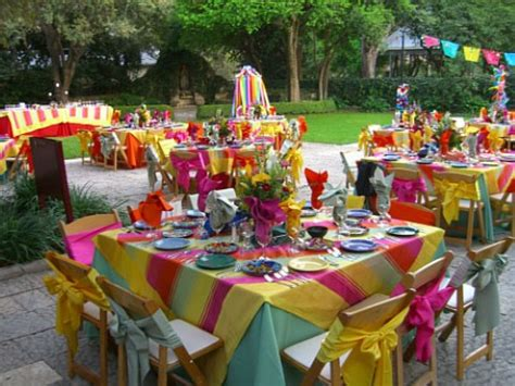 outside party ideas elegant outdoor first birthday party decorations the