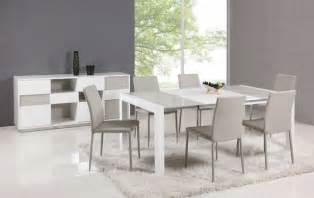 Modern Dining Table And Chairs Extendable Glass Top Leather Italian Dining Table And Chair Sets Modern Dining Tables