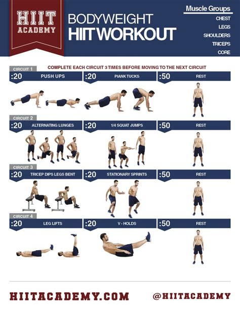 Living Room Bodyweight Workout 1000 Images About Hiit Workouts For On