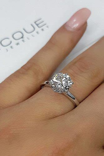 33 Top Round Engagement Rings   Page 2 of 6   Wedding Forward