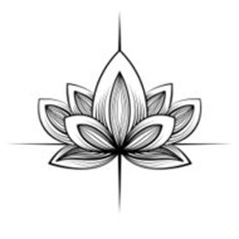 lotus tattoo zwart wit lotus bloem tattoo ontwerp premium clipart clipartlogo com