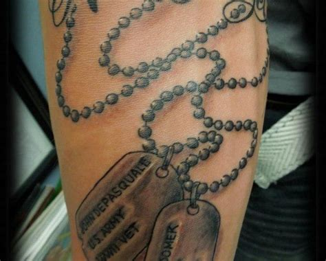 dog tag tattoo 9 best images about ideas on dads