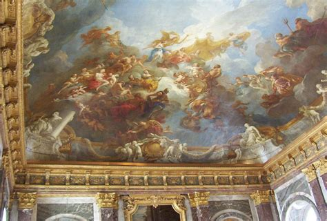 Versailles Ceiling by Our Day At The Palace Of Versailles