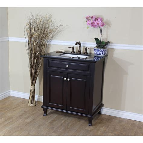 Single Sink Vanities by Bellaterra Home 603215 32dm Bg Single Sink Bathroom Vanity