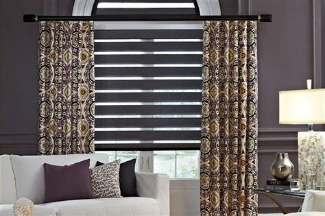 stationary panels and valance transitional family room other metro by maria j window 24 best images about transitional shades on pinterest foyers contemporary interior design and